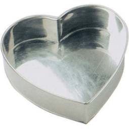 "View the 7"" / 179mm heart professional cake tin online at Cake Stuff"