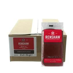 View the 2.5kg Chocolate Brown flavoured Regalice Decor-Ice sugarpaste icing online at Cake Stuff