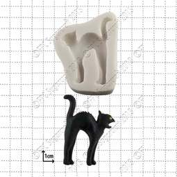 View the Black Cat silicone sugarcraft icing mould online at Cake Stuff