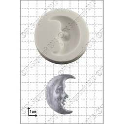 View the Man In The Moon silicone icing mould online at Cake Stuff