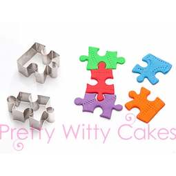 View the JIGSAW 2 pc stainless steel icing cutter set online at Cake Stuff