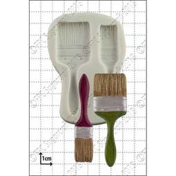View the PAINT BRUSHES silicone icing sugarcraft mould online at Cake Stuff