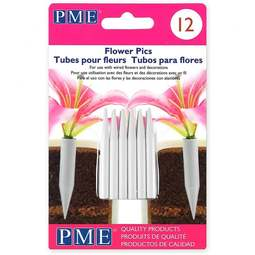 View the pack of 12 SMALL Posy Picks / Pics / Flower Spikes online at Cake Stuff