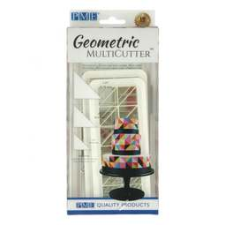 View the 3 pc RIGHT ANGLE TRIANGLE Geometric Multicutter icing cutter set online at Cake Stuff