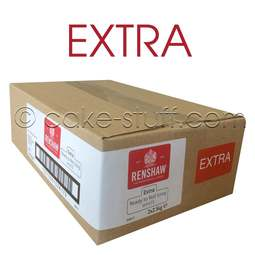 View the 5kg EXTRA Ready to Roll white fondant sugarpaste icing online at Cake Stuff