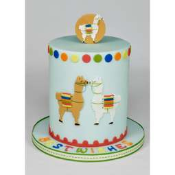 View the Mummy & Baby LLAMAS fondant icing sugarcraft cutter online at Cake Stuff