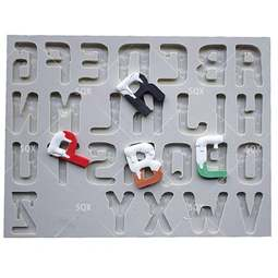 View the BLOODY / DRIPPING ALPHABET silicone sugarcraft mould online at Cake Stuff