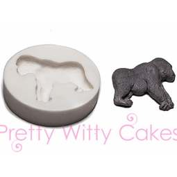 View the GORILLA silicone icing mould online at Cake Stuff