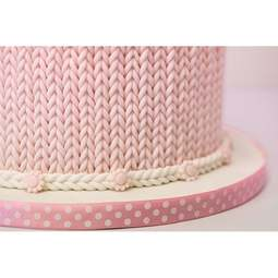 View the Chunky Knit silicone icing mould set online at Cake Stuff