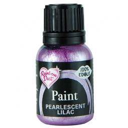 View the PEARLESCENT LILAC edible icing paint 25ml online at Cake Stuff