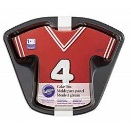 View the T SHIRT / SPORTS JERSEY non stick novelty cake tin online at Cake Stuff