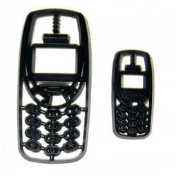 View the MOBILE PHONES 2 pc icing sugarcraft cutter set online at Cake Stuff