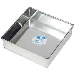 "View the 6"" / 152mm square professional cake tin online at Cake Stuff"