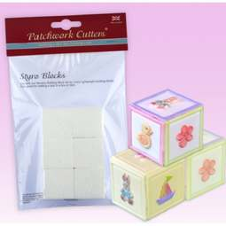 View the 3D STYRO BLOCKS 6 pc replacement set online at Cake Stuff