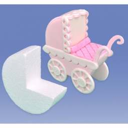 View the PRAM BASES (large) 2 pc styro block set online at Cake Stuff