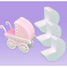 View the PRAM BASES (small) 6 pc styro block set online at Cake Stuff