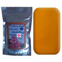View the 200g ORANGE Ultra Fine Sugar Flower Modelling Paste online at Cake Stuff