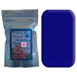 View the 200g ROYAL BLUE Ultra Fine Sugar Flower Modelling Paste online at Cake Stuff