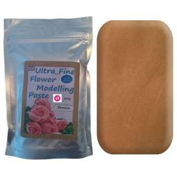 View the 200g BROWN Ultra Fine Sugar Flower Modelling Paste online at Cake Stuff