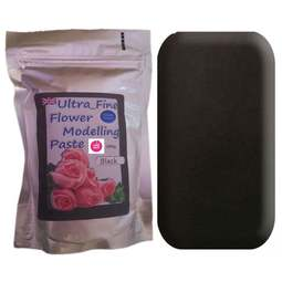 View the 200g BLACK Ultra Fine Sugar Flower Modelling Paste online at Cake Stuff