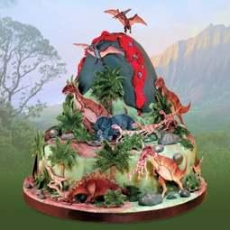 View the DINOSAUR 8 pc icing sugarcraft cutter set online at Cake Stuff
