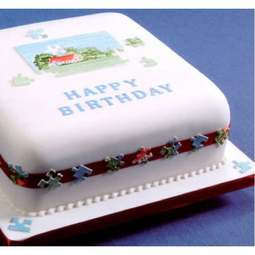 View the JIGSAW PUZZLE icing sugarcraft cutter online at Cake Stuff