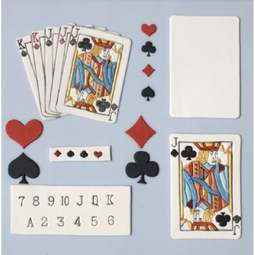 View the PLAYING CARDS 28 pc icing sugarcraft cutter set online at Cake Stuff