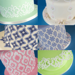 View the MIX & MATCH SIDE DESIGN 12 pc icing cutter set online at Cake Stuff