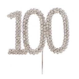 View the 100 - diamante cake / cupcake pick online at Cake Stuff