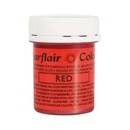 View the RED edible glitter paint liquid icing colouring 35g online at Cake Stuff