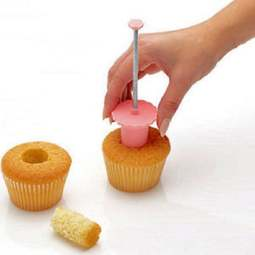 View the cupcake plunger corer / filling hole plunger cutter online at Cake Stuff