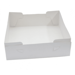 "View the 16"" (pack 25) cake transportation box BASES ONLY online at Cake Stuff"