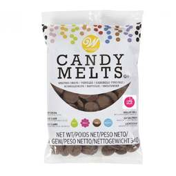 View the Milk Chocolate / Light Cocoa Candy Melts 340g online at Cake Stuff