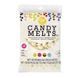 View the White vanilla Candy Melts chocolate 340g online at Cake Stuff