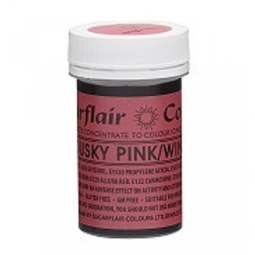 View the DUSKY PINK / WINE Spectral paste gel icing / food colouring 25g online at Cake Stuff