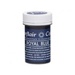 View the ROYAL BLUE Spectral paste gel icing / food colouring 25g online at Cake Stuff