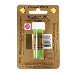 View the LIME GREEN Blossom Tint icing dusting colour 7ml online at Cake Stuff