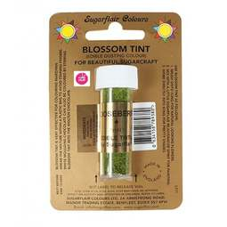 View the GOOSEBERRY GREEN Blossom Tint icing dusting colour 7ml online at Cake Stuff