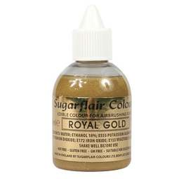 View the ROYAL GOLD 60ml airbrush liquid colouring online at Cake Stuff