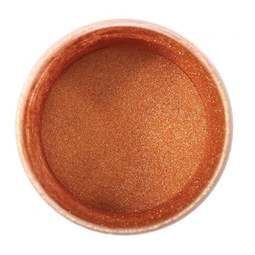 View the ROSE GOLD edible pearl dusting powder icing colour 5g online at Cake Stuff