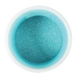 View the TURQUOISE edible pearl dusting powder icing colour 5g online at Cake Stuff