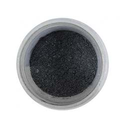 View the BLACK edible pearl dusting powder icing colour 5g online at Cake Stuff