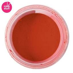 View the POPPY RED dusting powder icing food colouring 5g online at Cake Stuff