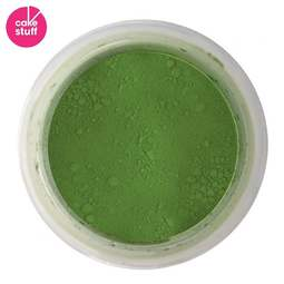 View the LEAF GREEN dusting powder icing food colouring 5g online at Cake Stuff