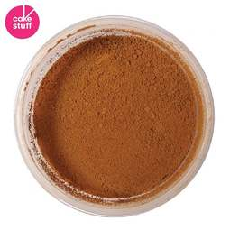 View the NUTMEG BROWN dusting powder icing food colouring 5g online at Cake Stuff