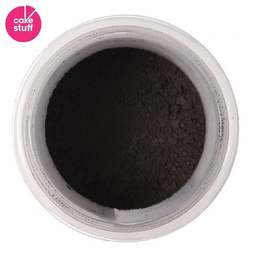 View the BLACK dusting powder icing food colouring 5g online at Cake Stuff