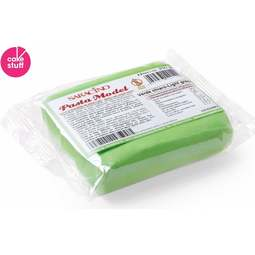 View the 250g LIGHT GREEN Sugar Modelling Paste online at Cake Stuff