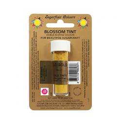 View the OLD GOLD Blossom Tint icing dusting colour 7ml online at Cake Stuff