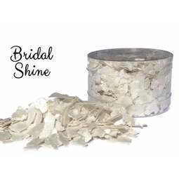 View the *CLEARANCE* BRIDAL SHINE edible sugarcraft flakes 6g online at Cake Stuff