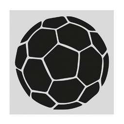 View the FOOTBALL professional cake icing sugarcraft stencil online at Cake Stuff